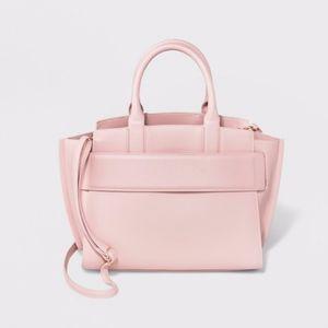 Winged Satchel Handbag - A New Day Blush